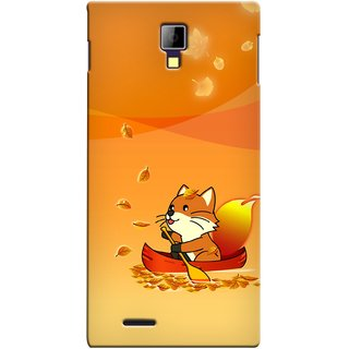 Snooky Digital Print Hard Back Case Cover For Micromax Canvas Xpress A99