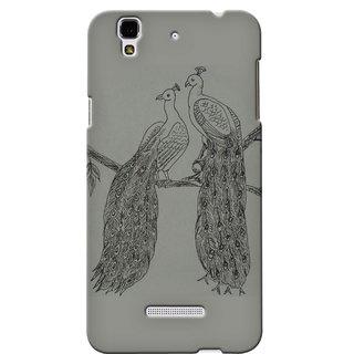 Snooky Digital Print Hard Back Case Cover For Micromax Yu Yureka