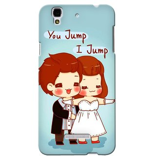 Snooky Digital Print Hard Back Case Cover For Micromax Yu Yureka