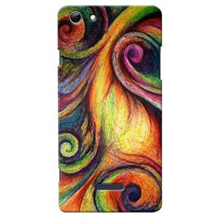 Snooky Digital Print Hard Back Case Cover For Micromax Canvas Selfie 3 Q348