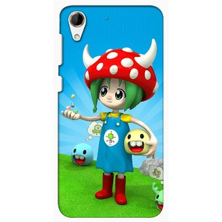 Snooky Digital Print Hard Back Case Cover For HTC Desire 728