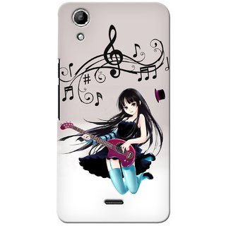 Snooky Digital Print Hard Back Case Cover For Micromax Canvas Selfie Lens Q345