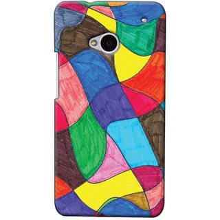 Snooky Digital Print Hard Back Case Cover For HTC One M7