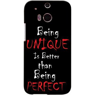 Snooky Digital Print Hard Back Case Cover For HTC One M8