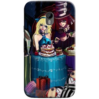 Snooky Digital Print Hard Back Case Cover For Motorola Moto G (3rd gen)
