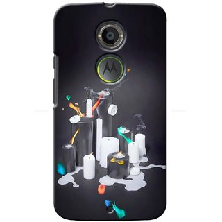 Snooky Digital Print Hard Back Case Cover For Motorola Moto X (2nd Gen)