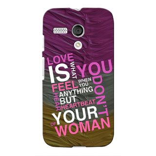 Snooky Digital Print Hard Back Case Cover For Motorola Moto G