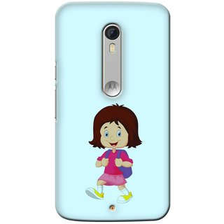 Snooky Digital Print Hard Back Case Cover For Motorola Moto X Play