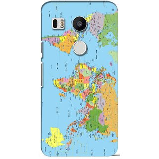 Snooky Digital Print Hard Back Case Cover For LG Google Nexus 5X