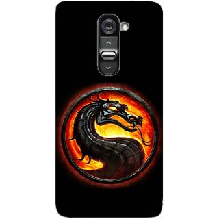Snooky Digital Print Hard Back Case Cover For LG G2