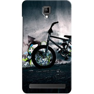 Snooky Digital Print Hard Back Case Cover For Micromax Bolt Q331