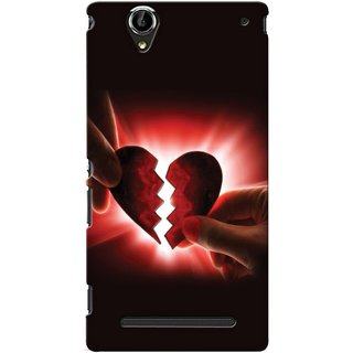 Snooky Digital Print Hard Back Case Cover For Sony Xperia T2 Ultra