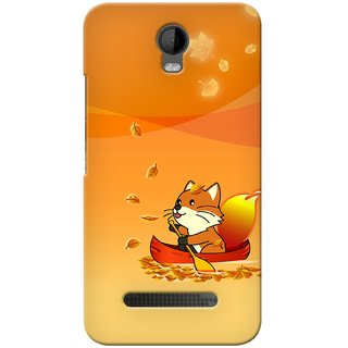 Snooky Digital Print Hard Back Case Cover For Micromax Bolt Q335