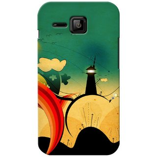 Snooky Digital Print Hard Back Case Cover For Micromax Bolt S301