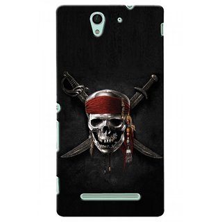 Snooky Digital Print Hard Back Case Cover For Sony Xperia C3