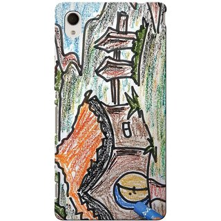 Snooky Digital Print Hard Back Case Cover For Sony Xperia M4 Aqua