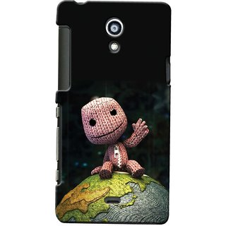 Snooky Digital Print Hard Back Case Cover For Sony Xperia T