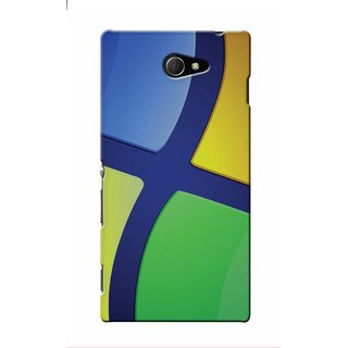 Snooky Digital Print Hard Back Case Cover For Sony Xperia M2