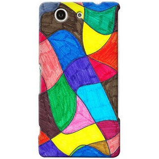 Snooky Digital Print Hard Back Case Cover For Sony Xperia Z4 Compact