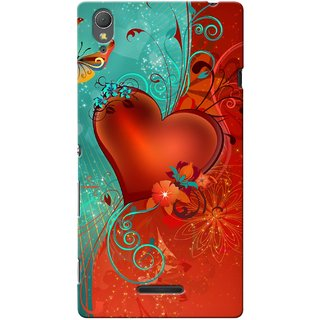 Snooky Digital Print Hard Back Case Cover For Sony Xperia T3