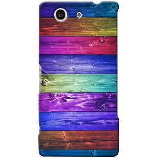 Snooky Digital Print Hard Back Case Cover For Sony Xperia Z3 Compact
