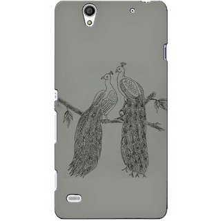 Snooky Digital Print Hard Back Case Cover For Sony Xperia C4