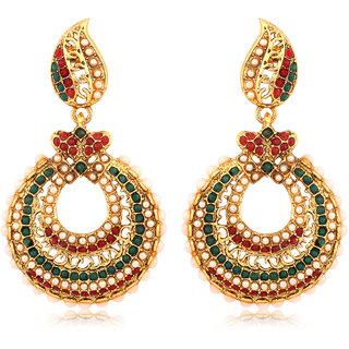 Inaya Multi Alloy Dangle Earrings