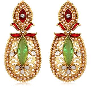 Inaya Multi Alloy Chandelier Earrings