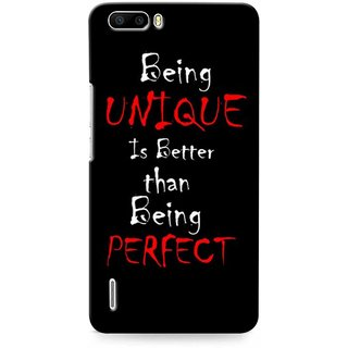 Snooky Digital Print Hard Back Case Cover For Huawei Honor 6 Plus