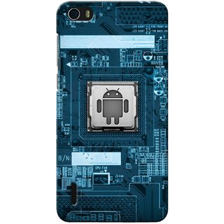 Snooky Digital Print Hard Back Case Cover For Huawei Honor 6