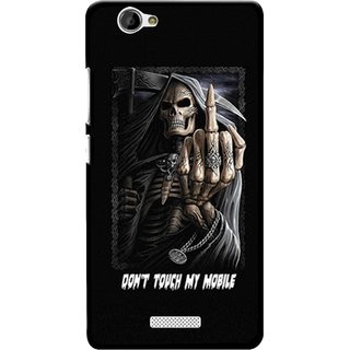 Snooky Designer Print Hard Back Case Cover For Gionee M2