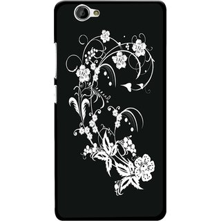 Snooky Designer Print Hard Back Case Cover For Gionee M2