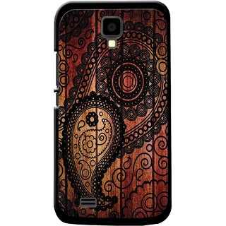 Snooky Designer Print Hard Back Case Cover For Gionee P2S