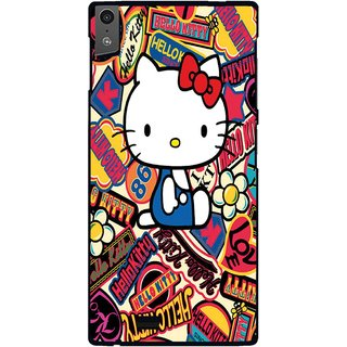 Snooky Designer Print Hard Back Case Cover For Gionee Elife S5.5