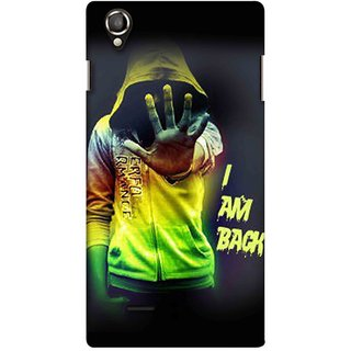 Snooky Digital Print Hard Back Case Cover For Lava Iris 800