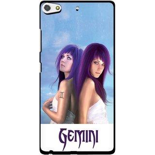 Snooky Designer Print Hard Back Case Cover For Gionee Elife S7
