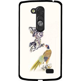 Snooky Designer Print Hard Back Case Cover For LG L Fino