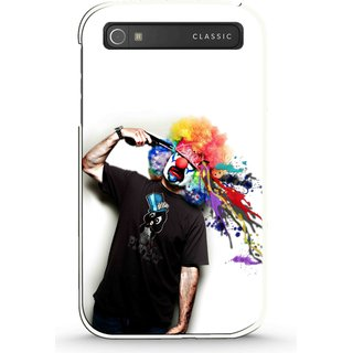 Snooky Designer Print Hard Back Case Cover  BlackBerry Classic
