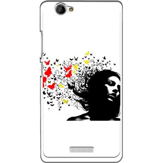 Snooky Designer Print Hard Back Case Cover  Gionee M2