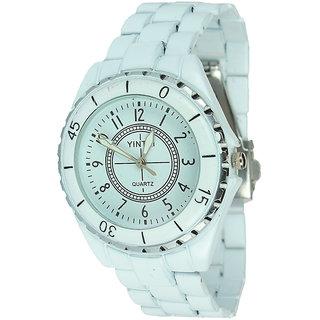 Rosra White Wrist Watch