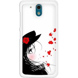 Snooky Designer Print Hard Back Case Cover HTC Desire 326G