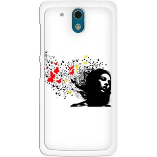 Snooky Designer Print Hard Back Case Cover HTC Desire 326G