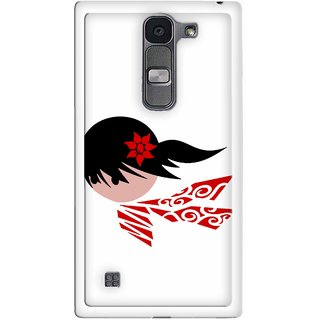Snooky Designer Print Hard Back Case Cover For LG Spirit