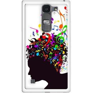 Snooky Designer Print Hard Back Case Cover For LG Spirit