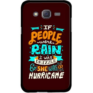 Snooky Designer Print Hard Back Case Cover For Samsung Galaxy J7