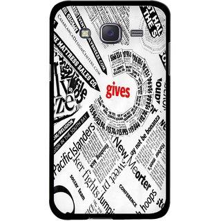Snooky Designer Print Hard Back Case Cover For Samsung Galaxy J7