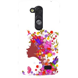 Snooky Designer Print Hard Back Case Cover For LG L Fino D295