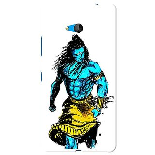 Snooky Designer Print Hard Back Case Cover For Microsoft Lumia 640
