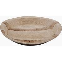 Areca Eco friendly Disposable Palm leaf  Round Plate 10X10-25Pcs