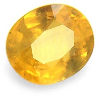 Manglam raj ratan 3.22 Ct Precious Stones Yellow Sapphire Gemstone